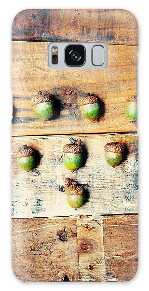 Autumn Galaxy Case - Autumn Acorns by Kim Fearheiley