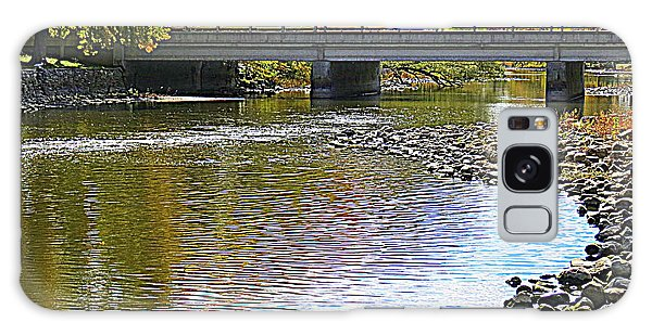 Autumn Along The Fox River Galaxy Case