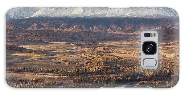River Galaxy Case - Autumn Altai Mountains by Dmitry Kupratsevich