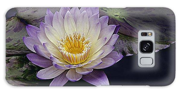 Autumn Aquatic Bloom Galaxy Case