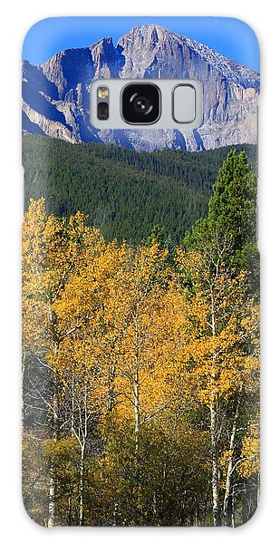 Autumn Aspens And Longs Peak Galaxy Case