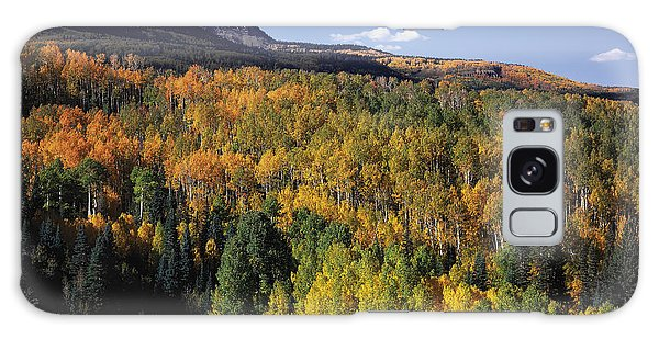 Autumn At Big Baldy Galaxy Case