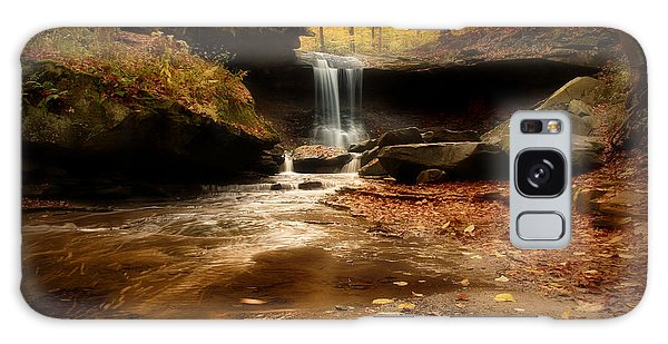 Autumn At Blue Hen Falls Galaxy Case