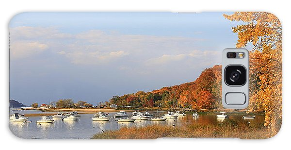 Autumn At Cold Spring Harbor Galaxy Case