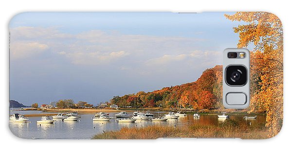 Autumn At Cold Spring Harbor Galaxy Case by Dora Sofia Caputo Photographic Art and Design
