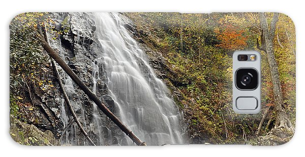Autumn At Crabtree Falls In North Carolina Galaxy Case