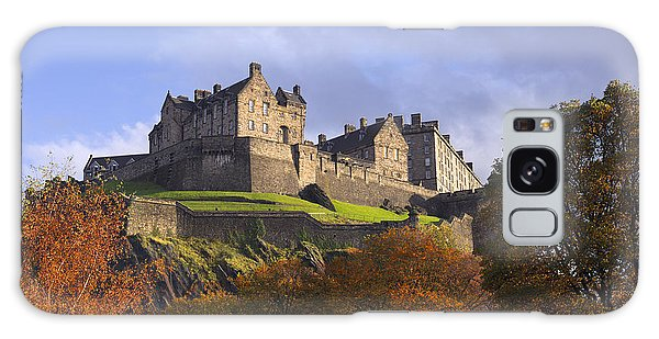 Autumn At Edinburgh Castle Galaxy Case