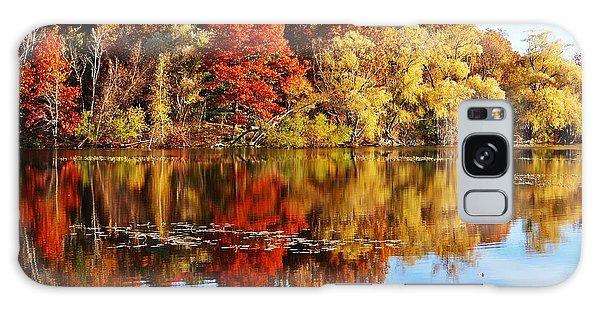 Autumn At Horn Pond Galaxy Case