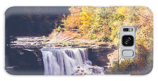 Autumn At Letchworth Galaxy Case by Sara Frank