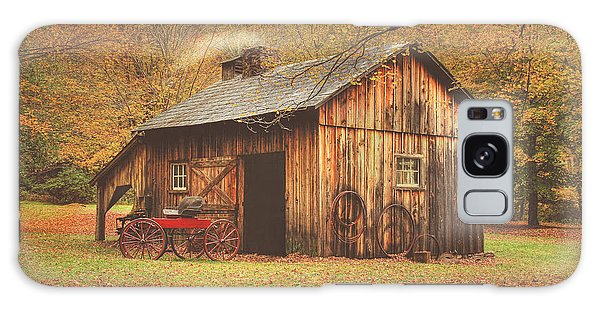 Autumn At Millbrook Village -the Blacksmith Shop Galaxy Case