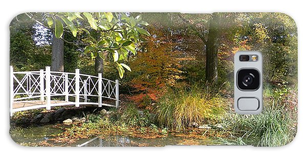 Autumn At Sayen Gardens Galaxy Case