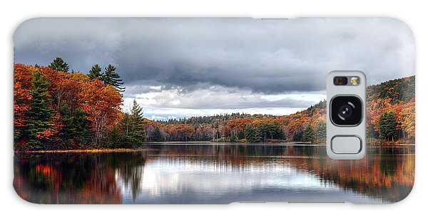 Autumn At Spectacle Pond Galaxy Case