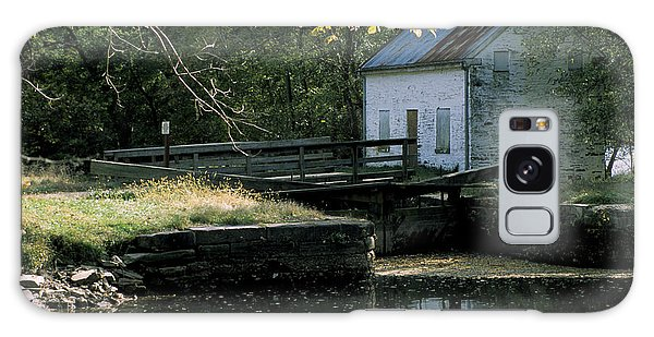 Autumn At The Lockhouse Galaxy Case
