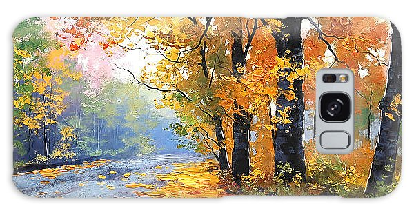 Foliage Galaxy Case - Autumn Backlight by Graham Gercken