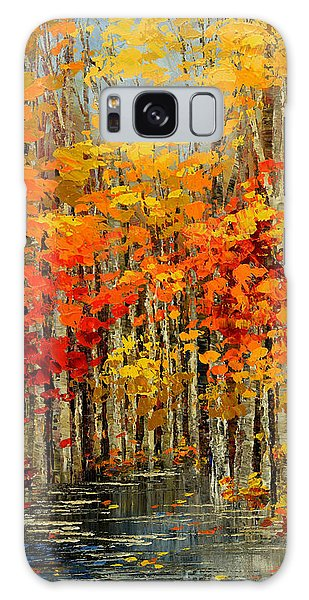 Autumn Banners Galaxy Case