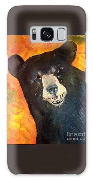 Autumn Bear Galaxy Case