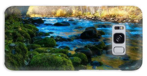 Autumn Beauty On The North Santiam Galaxy Case