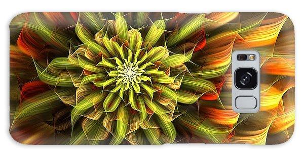 Autumn Bloom Galaxy Case by Linda Whiteside