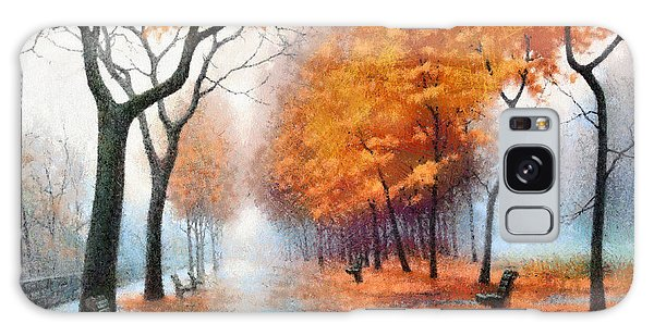 Autumn Boulevard Galaxy Case