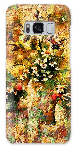 Autumn Bounty - Abstract Expressionism Galaxy Case