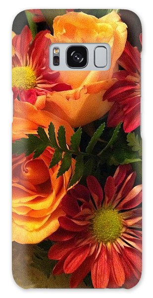 Autumn Bouquet Galaxy Case