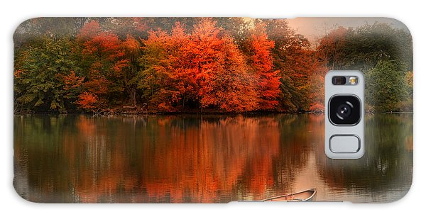 Autumn Canoe Galaxy Case