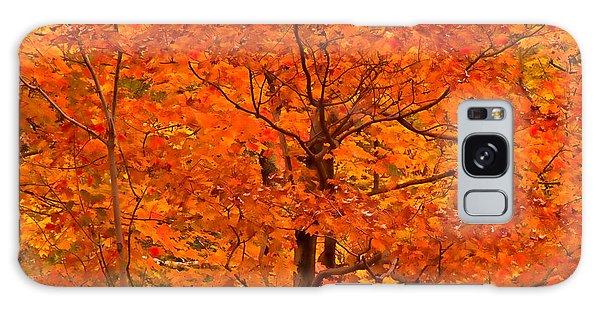 Autumn Color Splash Galaxy Case