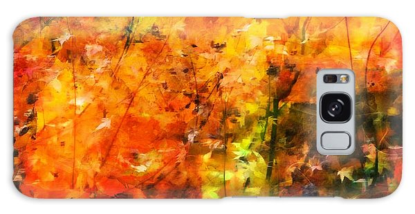 Autumn Colors Galaxy Case by Aaron Berg