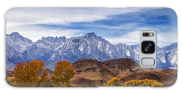 Autumn Colors And Mount Whitney Galaxy Case