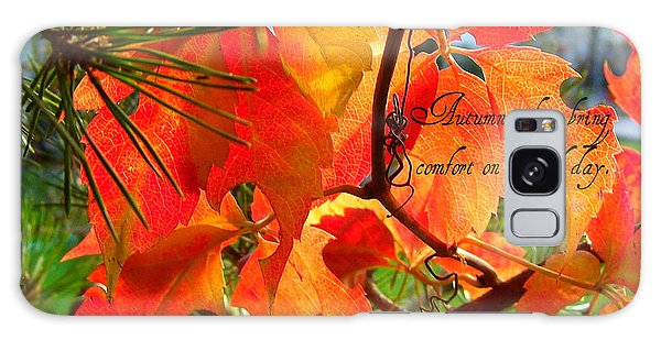 Autumn Colors Galaxy Case by Heidi Manly