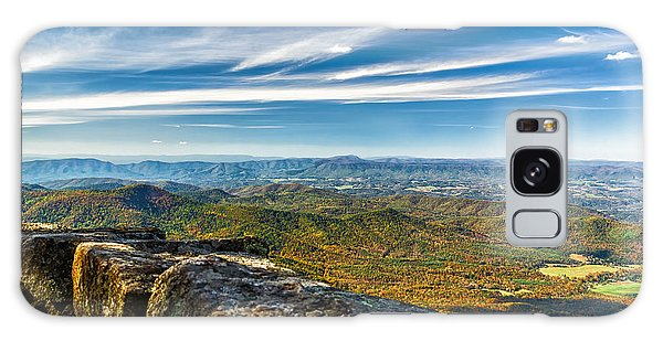 Autumn Colors In The Blue Ridge Mountains Galaxy Case