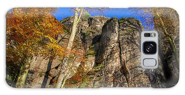Autumn Colors In The Saxon Switzerland Galaxy Case