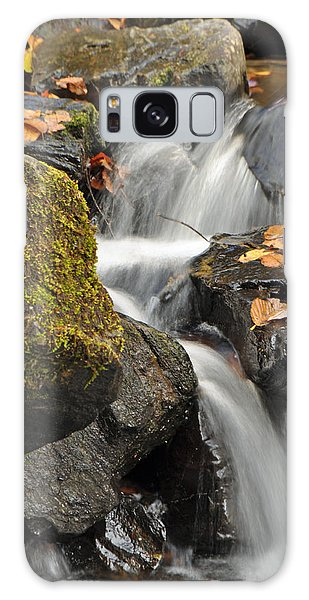 Autumn Colors On Big Crabtree Creek Galaxy Case