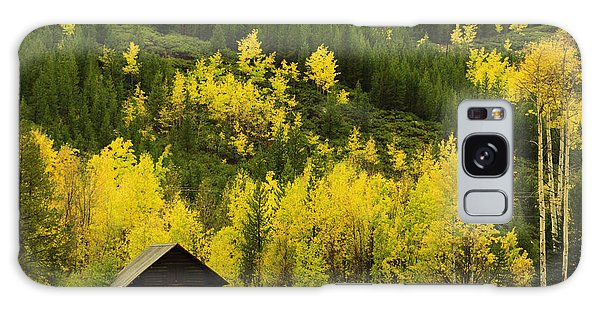 Autumn Comes To The Tetons Galaxy Case