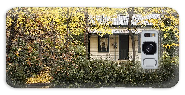 Autumn Country Home Galaxy Case by Kim Andelkovic