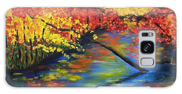 Autumn Crossing The River Galaxy Case