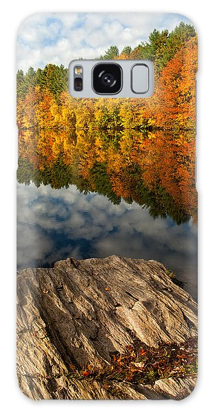 Autumn Day Galaxy Case by Karol Livote