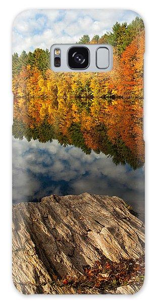 Autumn Day Galaxy Case