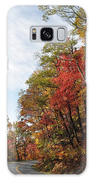 Autumn Day On The Blue Ridge Parkway Galaxy Case