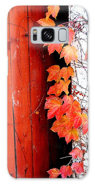 Autumn Days Galaxy Case