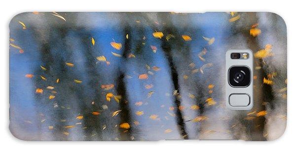 Autumn Daze - Abstract Reflection Galaxy Case
