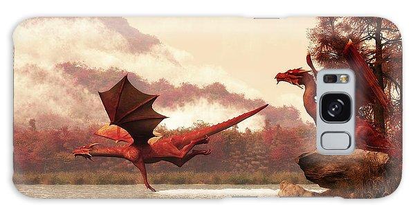 Autumn Dragons Galaxy Case