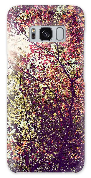 Autumn Dresses In Flame And Gold Galaxy Case by Kim Fearheiley