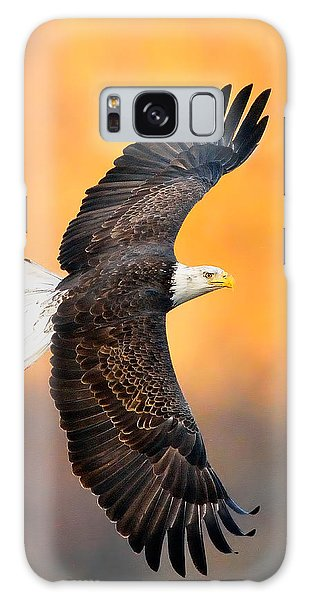 Autumn Eagle Galaxy Case