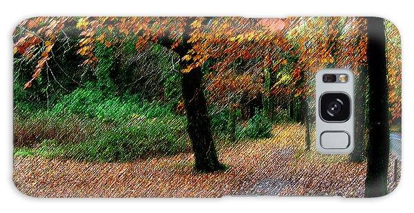 Autumn Entrance To Muckross House Killarney Galaxy Case