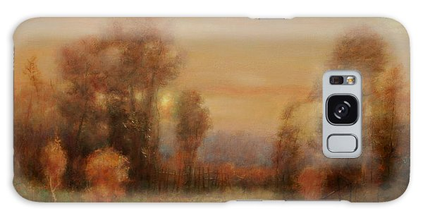 Autumn Evening Glow Galaxy Case