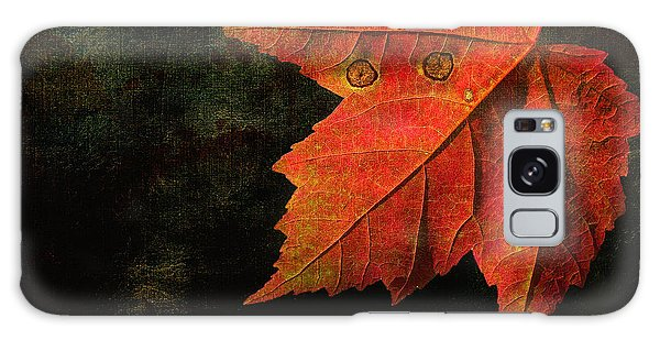 Autumn Eyes Galaxy Case by Kathi Mirto