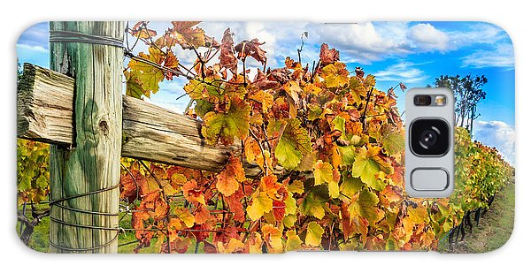 Autumn Falls At The Winery Galaxy Case