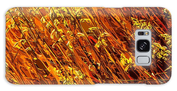 Autumn Field Galaxy Case