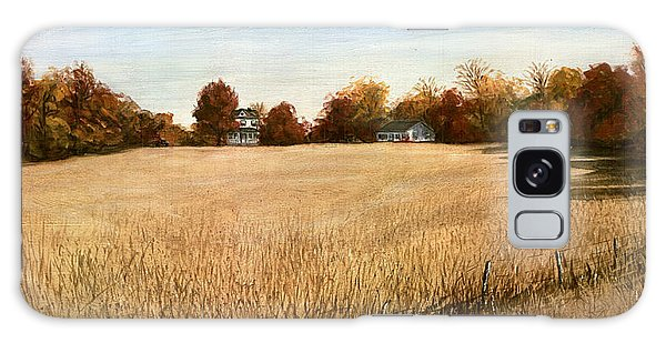Autumn Field Southern Maryland Galaxy Case